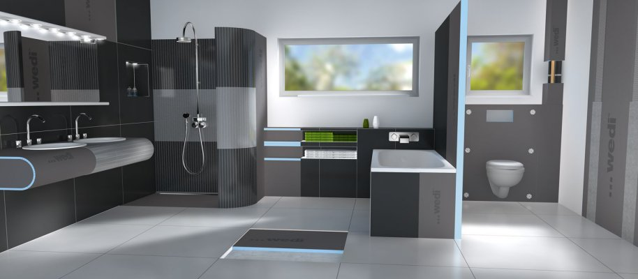 building systems - design elements - wedi
