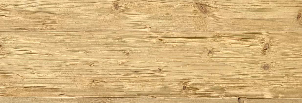 Profilholz Fichte gedämpft Banner quer