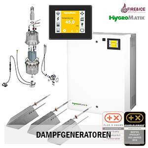 Dampfgeneratoren von Hygromatik