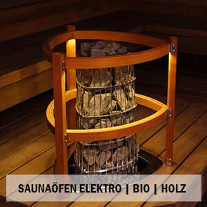 elektrische Saunaöfen finnisch & Bio