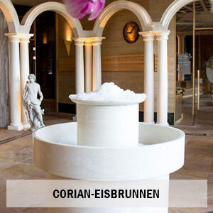 Eisbrunnen aus Corian