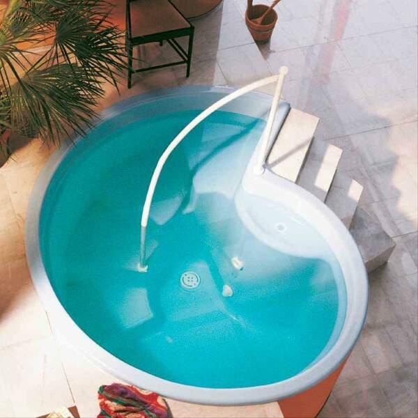 Tauchbecken Rondo 125 meerblau