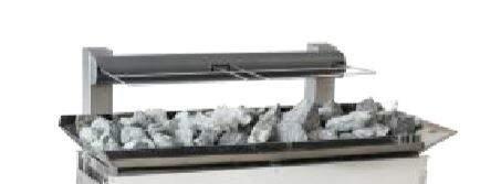 Aufsatzrahmen für +30kg Steine - Baugröße 2 (24 - 36 kW)