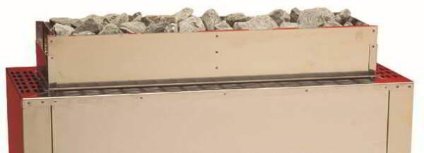 Montagerahmen für Abschaltwippe + Aufsatzrahmen für +30 kg Steine - Baugröße 1 (15 - 21 kW)