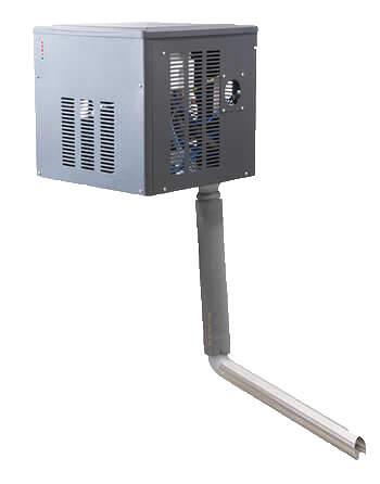 E-Cool Wall Flockeneisspender | EOS Kältetechnik