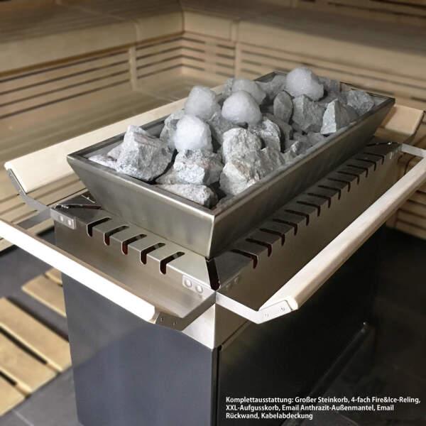 Saunaofen Elektro Pyro Ewald Lang Sauna-therm