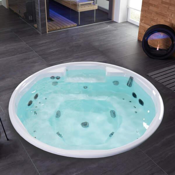 Whirlpool Indoor Roman eingebaut