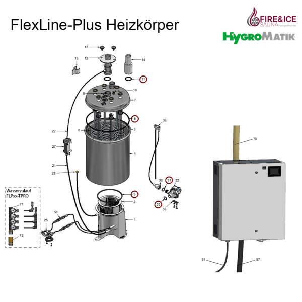 O-Ringset für Dampfgeneratoren (AC-08-00000)