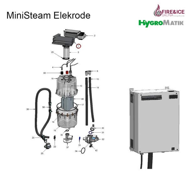 Düse für Dampfgeneratoren (HS-83-00012)