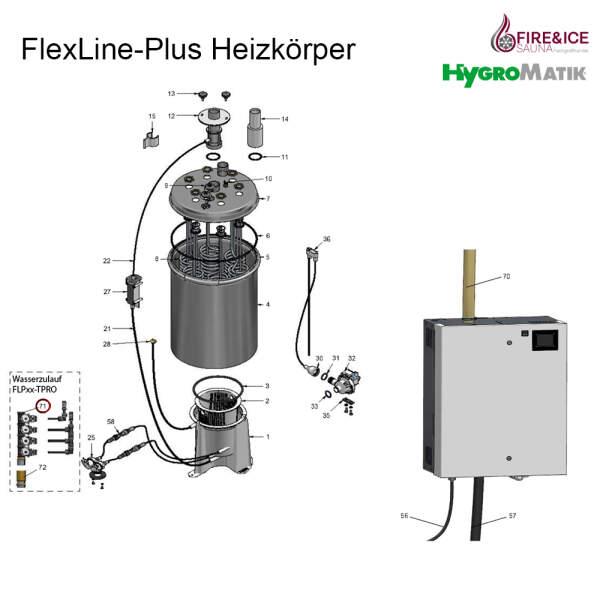 4-fach Magnetventil 0,2-10 bar für Dampfgeneratoren...