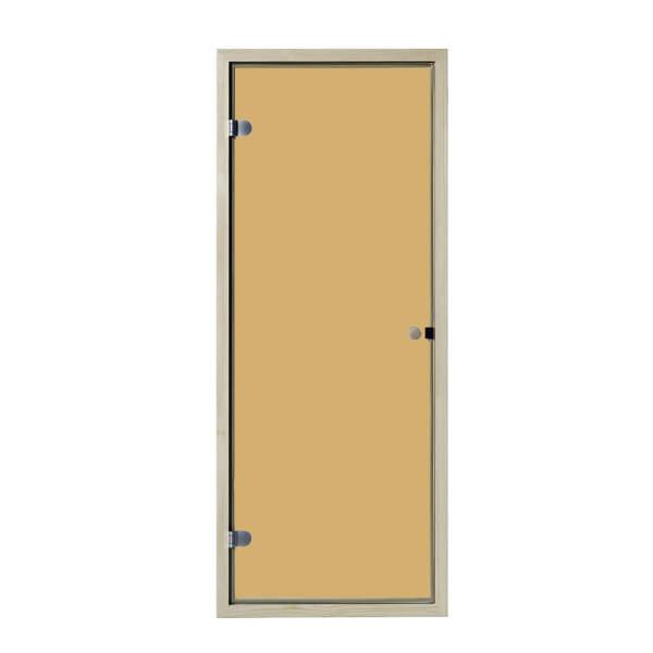 Saunatür Glas Basic bronziert | 6 mm | EOS