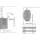 Saunaofen Vega BC60E (6,0 kW) separate Steuerung erforderlich 1/3 Phasen