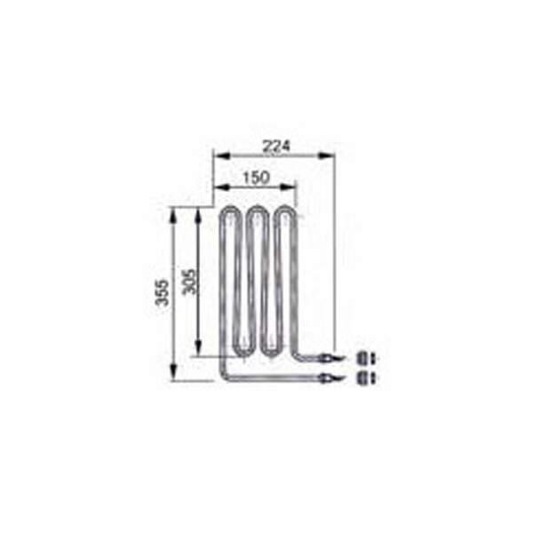 Heizstab - Rohrheizkörper 1500 W (2000.8085)