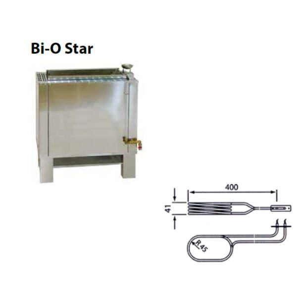 Heizstab - Rohrheizkörper für Verdampfer EOS 2000 W (2001.1759)