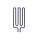 Heizstab - Rohrheizkörper EOS 2000 W (2000.7524)