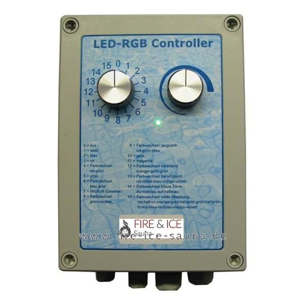 Steuerung SAU-V2 RGB für 1-10 LED Master,...