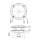 Feuchtraumlautsprecher 100mm weiß für Erlebnisduschen