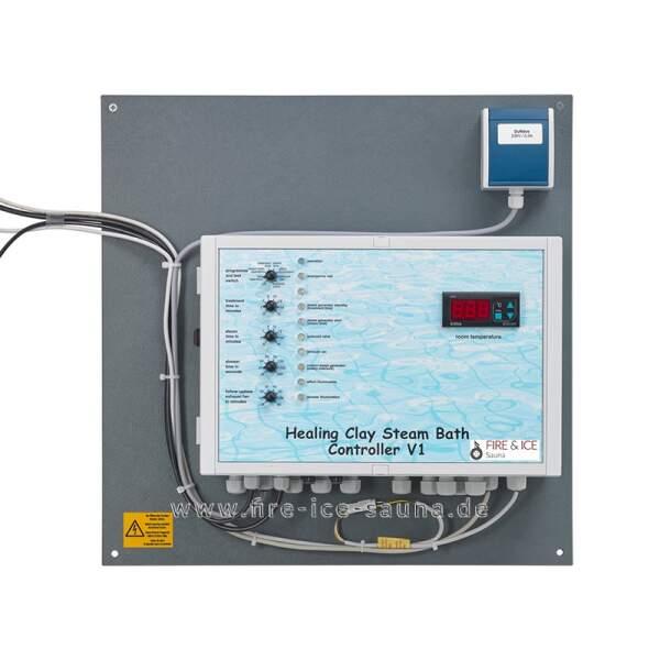 Steuerung Heilerde Dampfbad V1