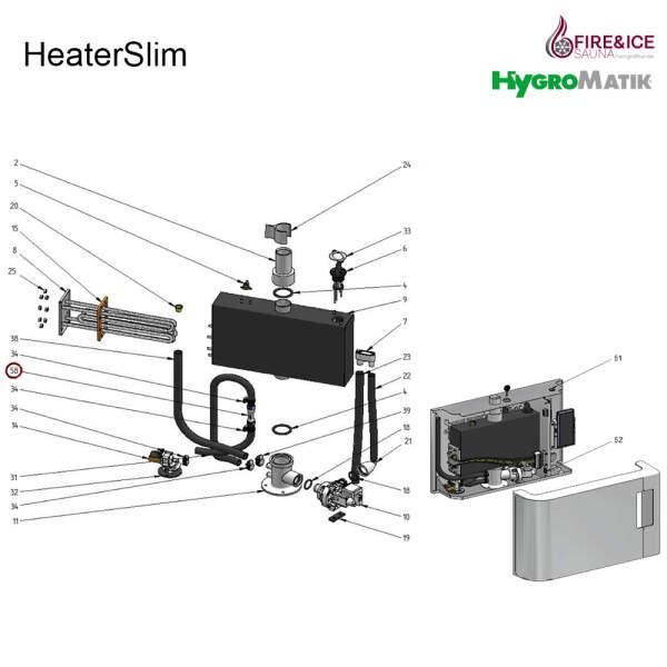 doppeltes Rückschlagventil für Dampfgeneratoren (E-2604094)