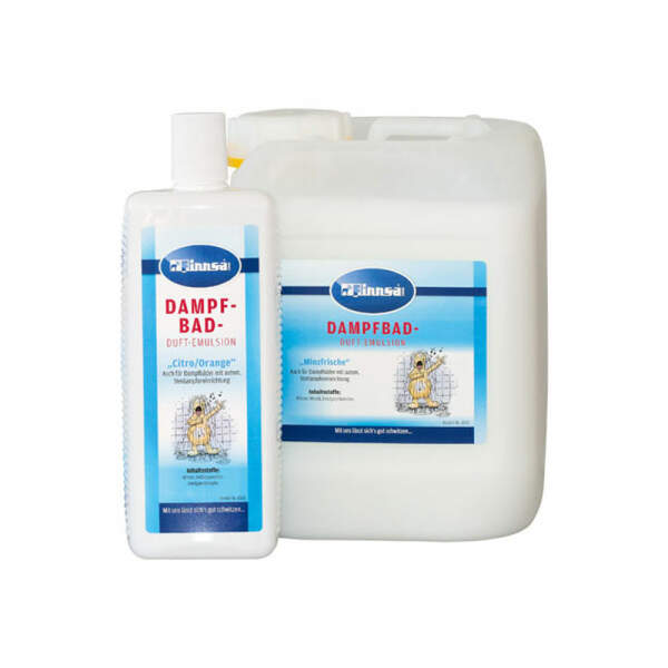 Dampfbad-Duftemulsion, 10 Duftnoten, 1 Liter