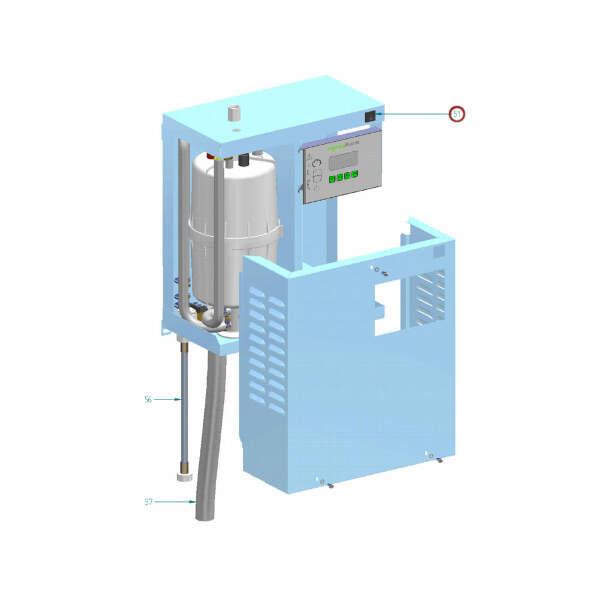 Hygromatik Steuerschalter Comfort für C01-C58 CompactLine