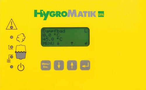Display (Comfort) für Dampfgeneratoren (B-2526401)