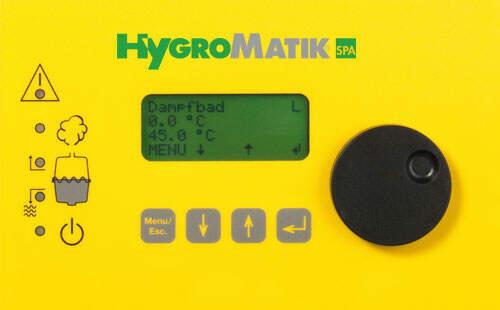 Display (Comfort Plus) für Dampfgeneratoren (B-2526403)