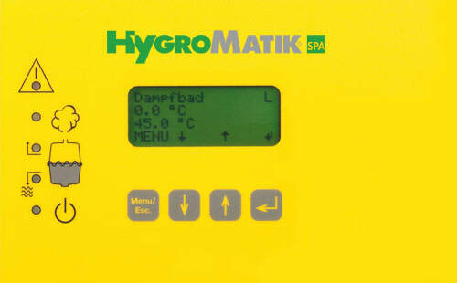 Hygromatik Display (Comfort) für C01-C10 CompactLine...