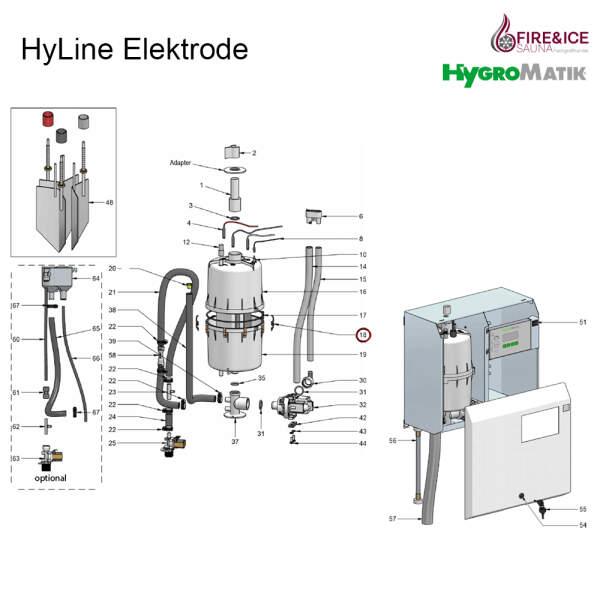 Verschlußklammer des Zylinders für Dampfgeneratoren (E-3216022)