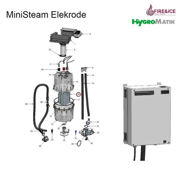 Elektroden für Dampfgeneratoren (B-3204021)
