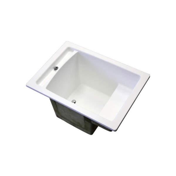 Tauchbecken für Sauna aus GFK-Kunststoff