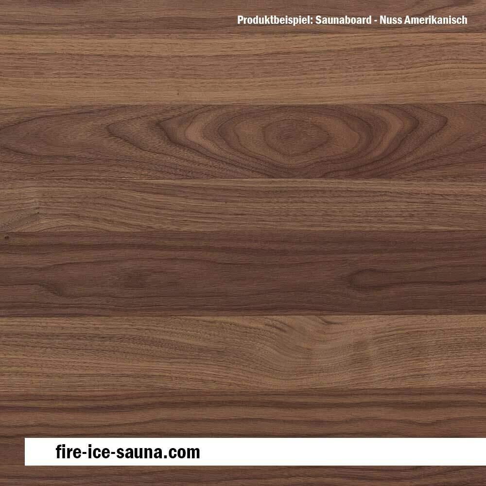 HOFMEISTER/® Sauna-T/ürgriff-Platte aus Holz Unlackiert mit waagerechter Bohrung 12,6 x 12,6 x 2,8 cm