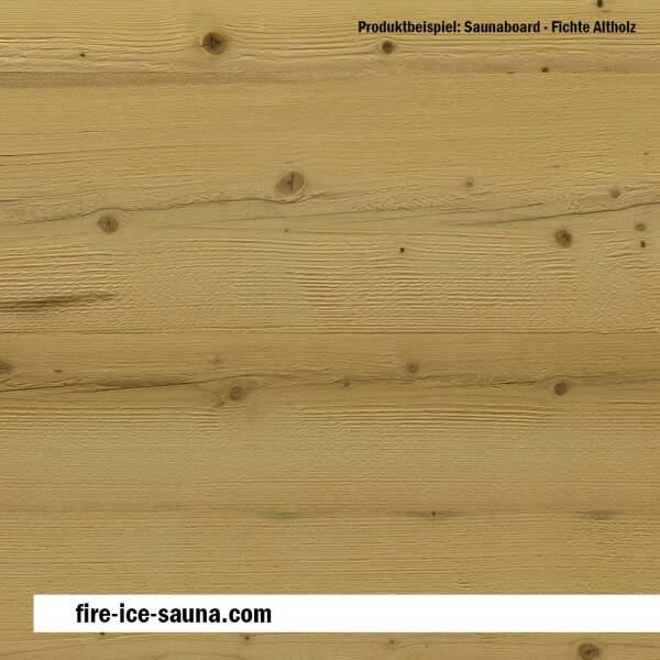 Saunaholz Fichte altholz Flex - extraschmales Furnierholz