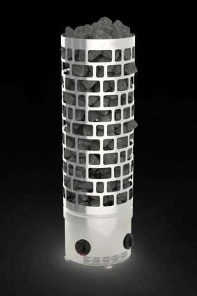 Säulenofen ARI mit integrierter Saunasteuerung  9,0kW