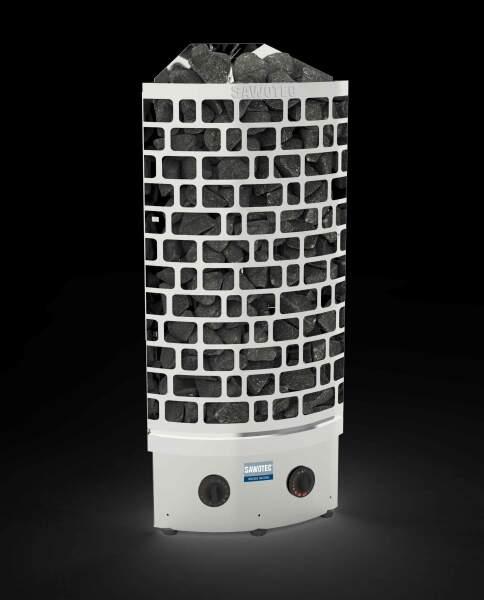 Säulenofen ARI ECK mit integrierter Saunasteuerung 7,5kW