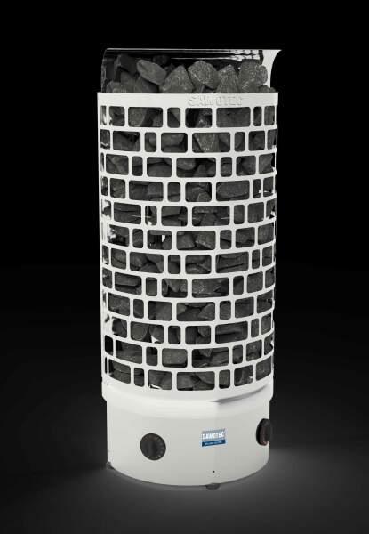Säulenofen ARI Wand mit integrierter Saunasteuerung...
