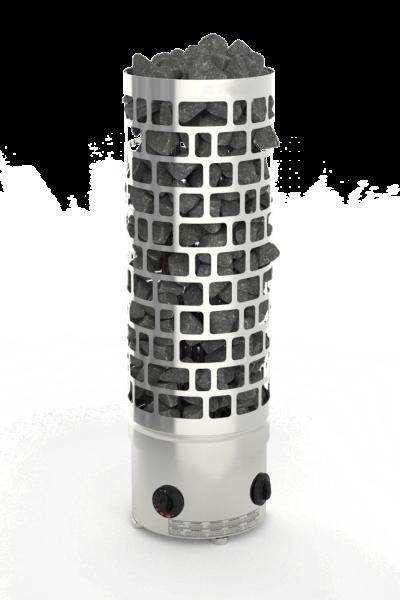 Säulenofen ARI Wand mit integrierter Saunasteuerung 9,0kW