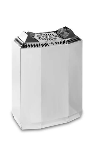 Bio-Elektrosaunaofen FinTec KAISA 8,0 kW (Edelstahl)