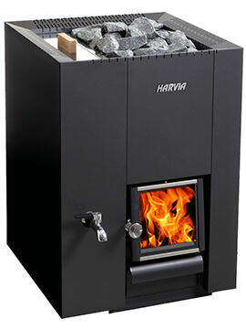 Holz Saunaofen Harvia Linear 22 LS | 26,1 kW (8-22 m³)