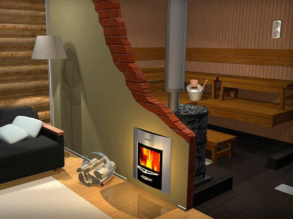 Holz Saunaofen Harvia Legend 240 Duo | 21 kW (10-24 m³)