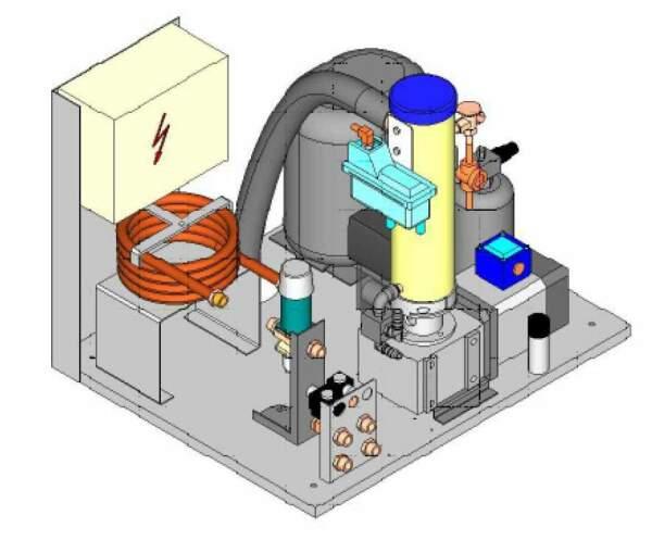 Eismaschine Eisbereiter Eisautomat Sauna Wellness