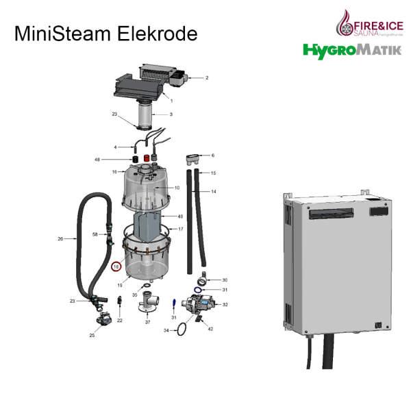 Verschlussklammern der Dampfzylinder für Dampfgeneratoren (B-3216021)